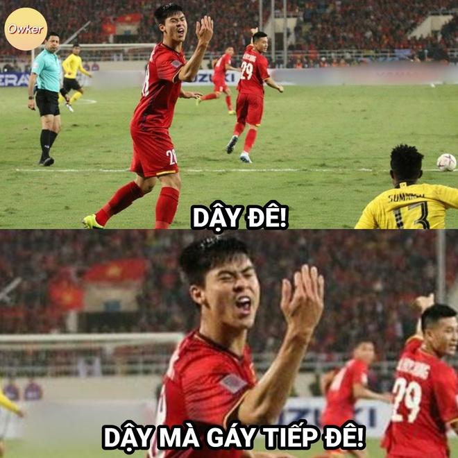 Việt Nam thắng Malaysia, meme cười bể bụng đánh chiếm khắp mạng xã hội - ảnh 17