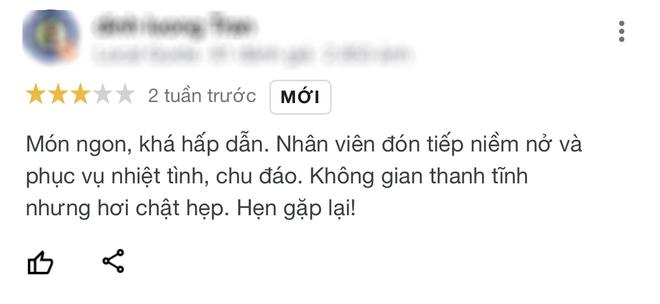 Nhà hàng chay của Phi Nhung hứng bão đánh giá 1 sao từ dân mạng sau drama với con trai nuôi, người từng đến ăn review ra sao? - Ảnh 6.