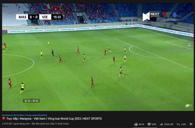 Sức nóng quá lớn, trận đấu Việt Nam - Malaysia hút lượng người xem cao không tưởng, ăn đứt trận gặp Indonesia - ảnh 4