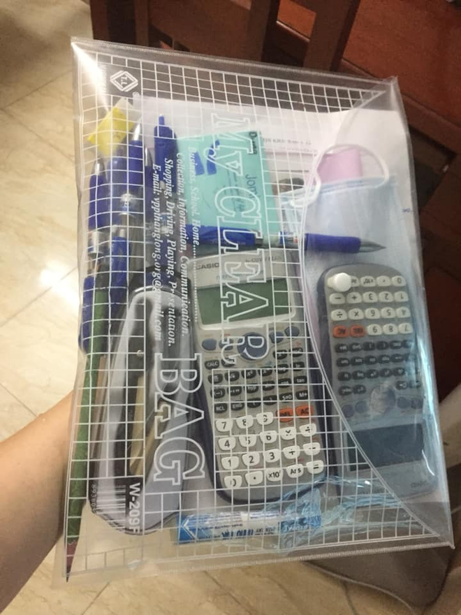 Bị cấm mang hộp bút vào phòng thi, nam sinh có pha xử lý nhanh trí khiến cả cha mẹ lẫn giáo viên cười ngặt nghẽo - ảnh 2
