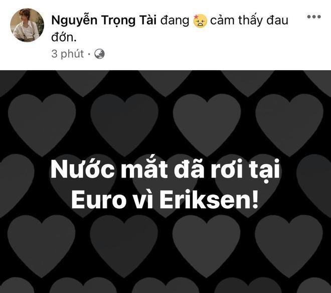 Diệu Nhi bật khóc, Trịnh Thăng Bình và dàn sao Việt cầu nguyện cho cầu thủ Erikse tuyển Đan Mạch đột quỵ trên sân đấu Euro - ảnh 5