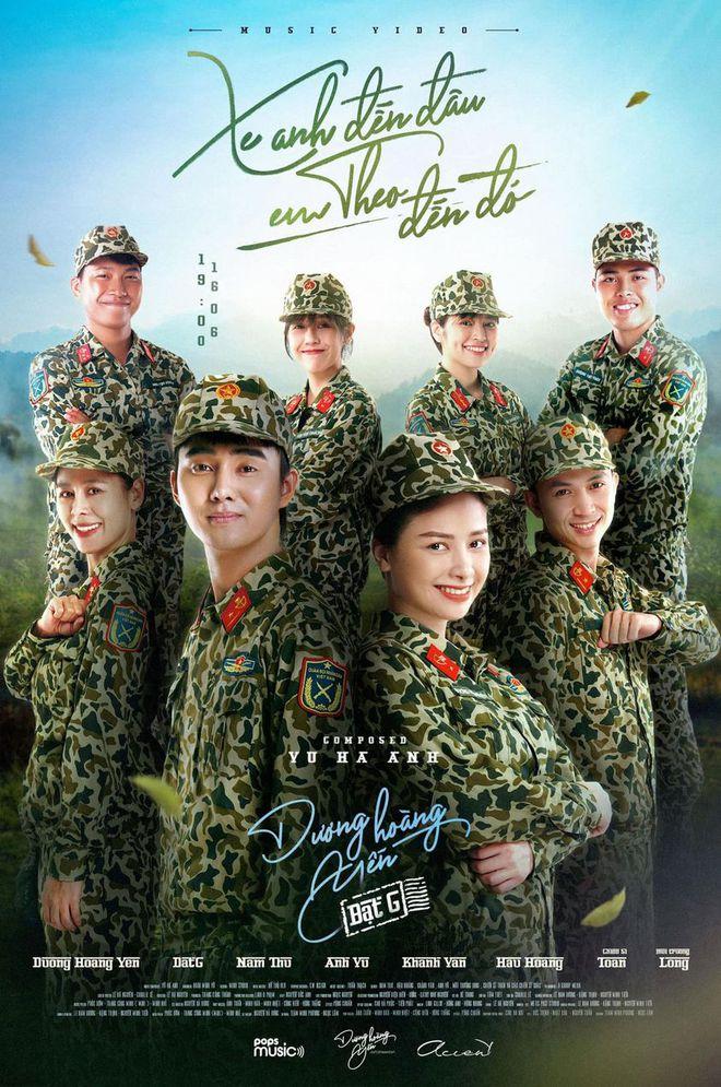 Nam Thư đúng là trưởng nhóm ship Hậu Hoàng - Mũi Trưởng Long rồi, chèo thuyền ngay trên poster MV của Dương Hoàng Yến - ảnh 1