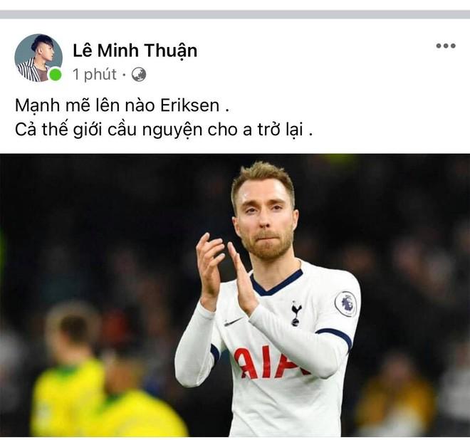 Diệu Nhi bật khóc, Trịnh Thăng Bình và dàn sao Việt cầu nguyện cho cầu thủ Erikse tuyển Đan Mạch đột quỵ trên sân đấu Euro - ảnh 6