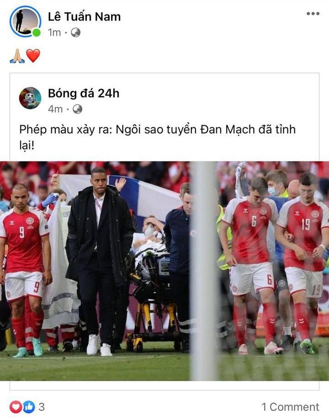 Dân mạng Việt đi từ bàng hoàng đến vỡ oà khi chứng kiến cầu thủ số 1 Đan Mạch đột quỵ ngay trên sân đấu Euro - ảnh 5