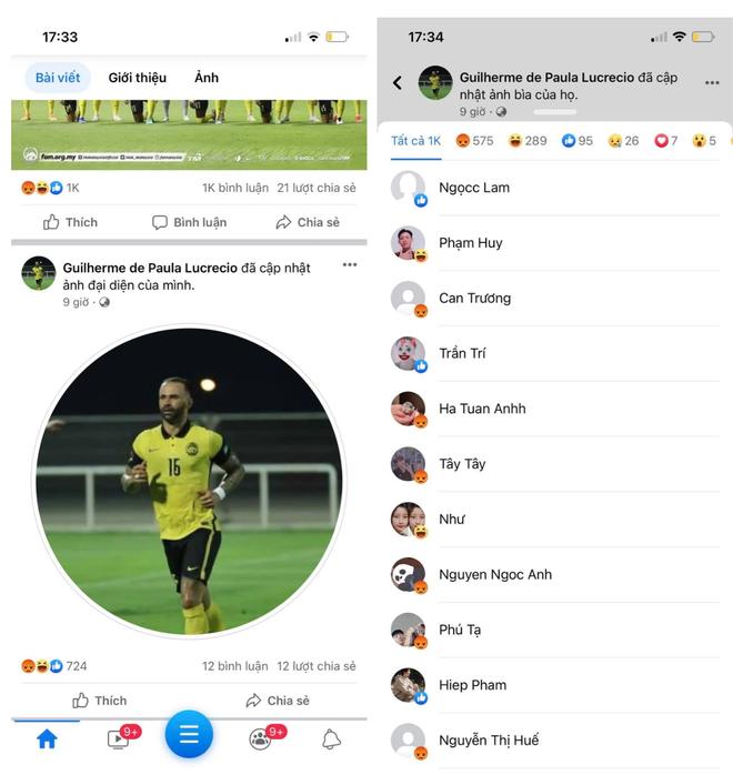 Fanpage chính thức của Hiệp hội Liên đoàn bóng đá Malaysia chặn IP của người dùng Việt - ảnh 4