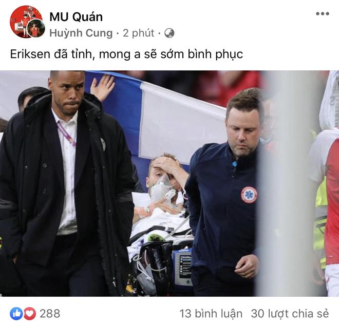 Dân mạng Việt đi từ bàng hoàng đến vỡ oà khi chứng kiến cầu thủ số 1 Đan Mạch đột quỵ ngay trên sân đấu Euro - ảnh 4