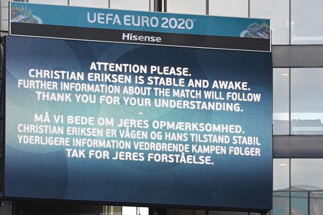 Nóng: Eriksen gọi Facetime động viên đồng đội hoàn thành trận đấu - ảnh 2