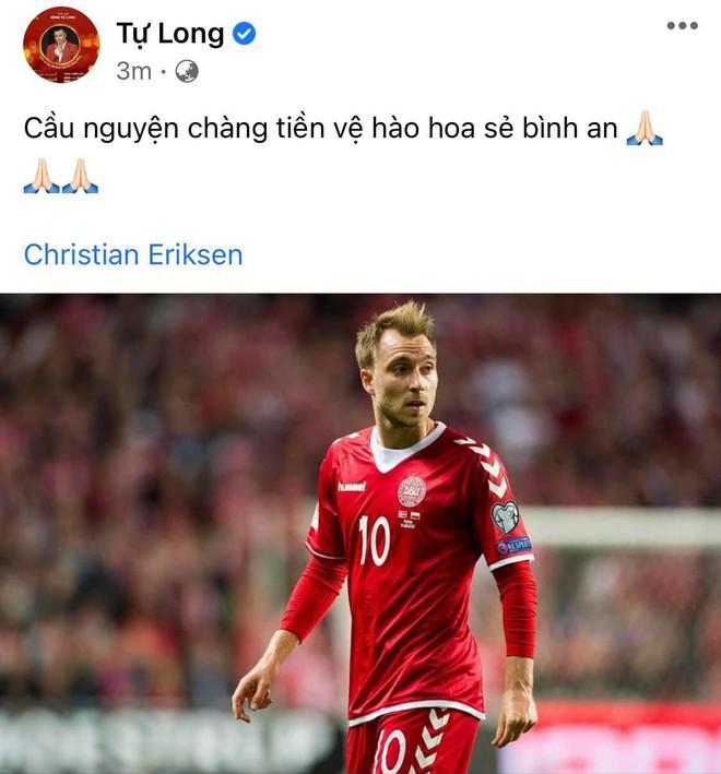 Diệu Nhi bật khóc, Trịnh Thăng Bình và dàn sao Việt cầu nguyện cho cầu thủ Erikse tuyển Đan Mạch đột quỵ trên sân đấu Euro - ảnh 11