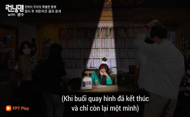 Ji Hyo kìm nén chia tay Kwang Soo: Nghĩ đến cảnh không thấy em ở đó, chị đau lòng và thấy như sắp sụp đổ - ảnh 4