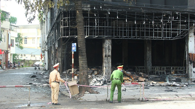 Danh tính 6 nạn nhân tử vong trong vụ cháy kinh hoàng ở Nghệ An: 4 người trong cùng 1 gia đình, 1 người phụ nữ đang mang thai - Ảnh 1.