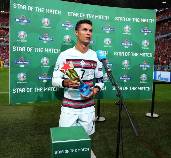 Ronaldo phá liên tiếp 3 kỷ lục vĩ đại nhất lịch sử Euro chỉ sau 1 trận đấu - ảnh 3