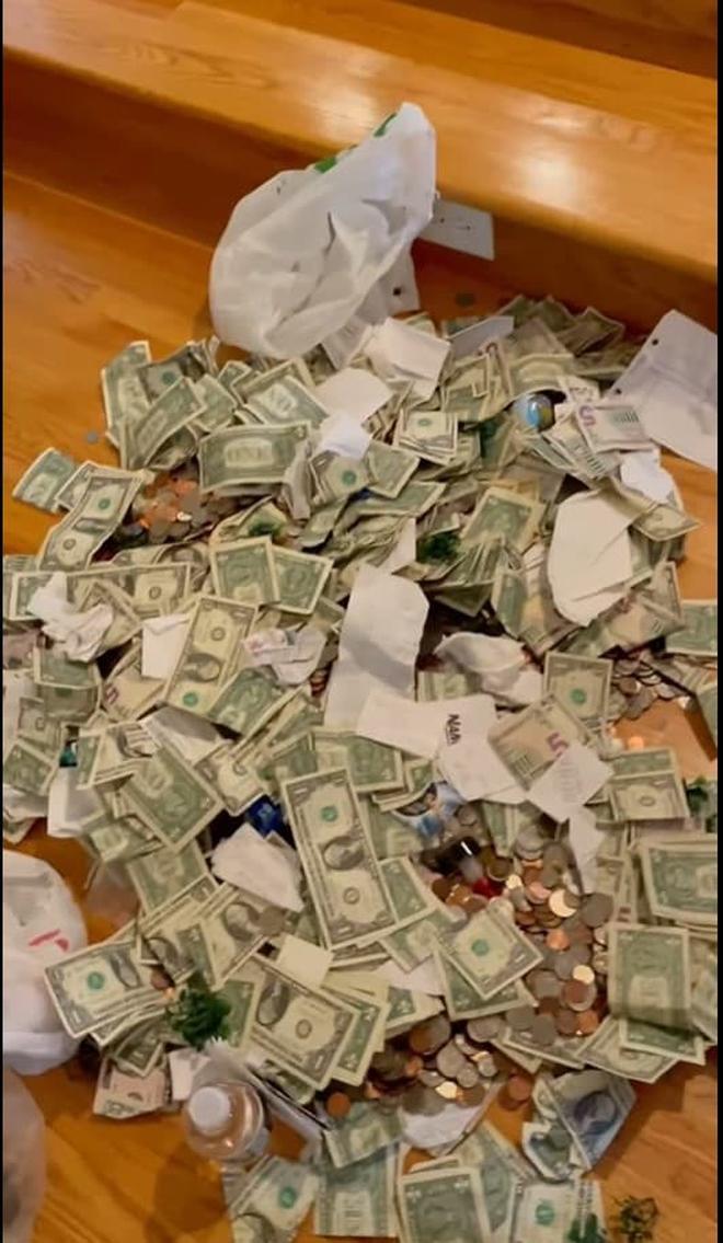 Phạm Thanh Thảo và chồng đại gia khui lu tiền USD khủng, toàn tiền lẻ nhưng cũng khiến netizen hoa mắt chóng mặt - ảnh 2