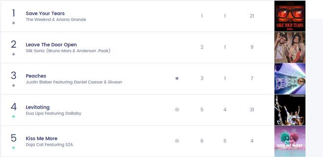 Nữ nghệ sĩ từng hợp tác với BLACKPINK có 1 bài hit từng trải tất cả các vị trí trên Top 10 Billboard Hot 100, chỉ #1 là nhất quyết không! - ảnh 7