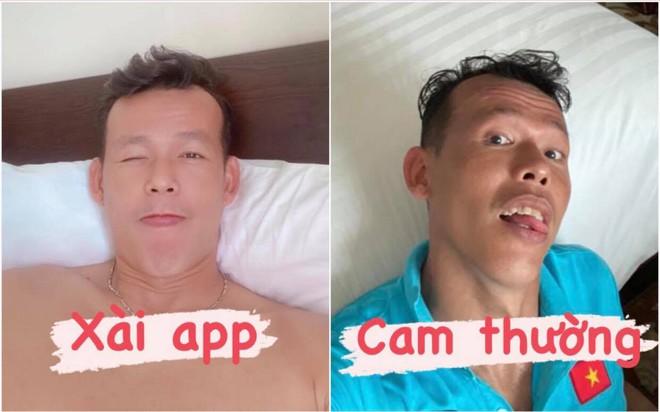 So ảnh xài app - cam thường của ông chú Tấn Trường: Khác một trời một vực nhưng bản nào cũng thấy hài - Ảnh 1.