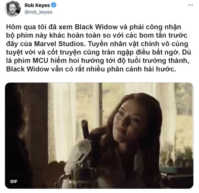 Bom tấn Black Widow được khen tới tấp, Marvel ghi điểm vì mức độ cháy khét lẹt của dàn mỹ nhân - ảnh 3