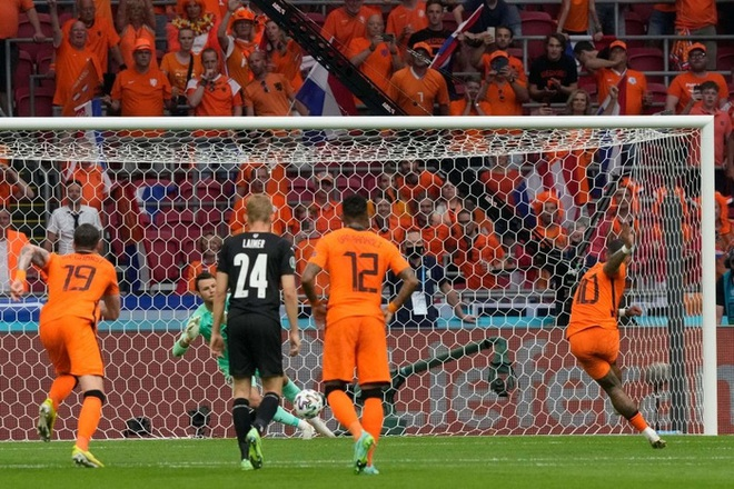 Thắng áp đảo tuyển Áo, Hà Lan chính thức bước tiếp vào vòng knock-out Euro - ảnh 3