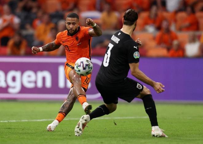 Thắng áp đảo tuyển Áo, Hà Lan chính thức bước tiếp vào vòng knock-out Euro - ảnh 4
