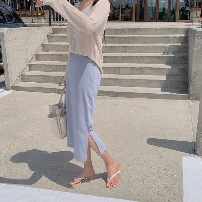 Và đây là cách để hack dáng nhờ váy xẻ cao, chân ngắn hoá chân dài miên man trong tích tắc - ảnh 14