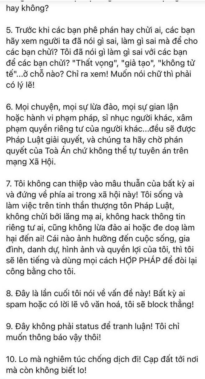 Đã có 7 sao Việt lên tiếng về chatroom Nghệ sĩ Việt chuyên nói xấu: Phương Thanh mâu thuẫn, Hiếu Hiền - Diễm Thuỳ tỏ thái độ khi bị kết nạp - ảnh 6