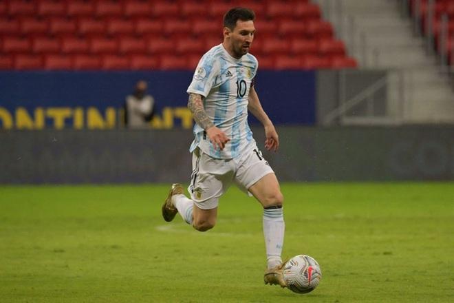Messi kiến tạo giúp Argentina có thắng lợi đầu tiên tại Copa America 2021 - ảnh 1