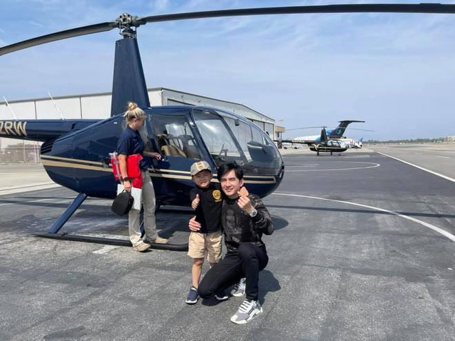 Rich kid ở Mỹ kiểu quý tử nhà Đan Trường: Đi trực thăng dạo phố, mê siêu xe và tận hưởng cuộc sống chuẩn giới thượng lưu - Ảnh 5.