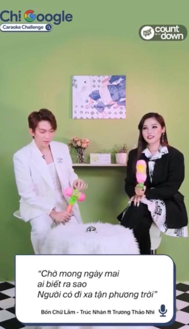 Tăng Phúc và Trương Thảo Nhi hát 3 hit khuấy đảo Vpop, thừa nhận hay nghe bài của Sơn Tùng mà không thuộc - ảnh 5