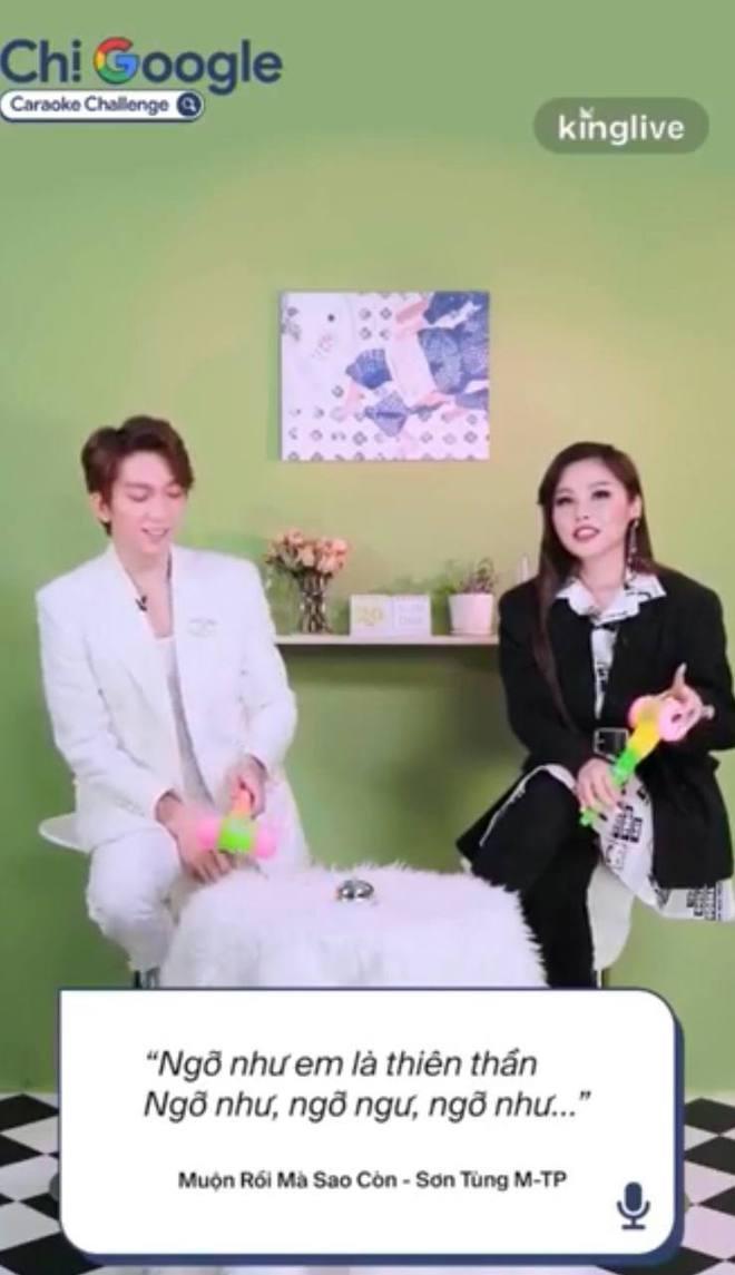 Tăng Phúc và Trương Thảo Nhi hát 3 hit khuấy đảo Vpop, thừa nhận hay nghe bài của Sơn Tùng mà không thuộc - ảnh 9