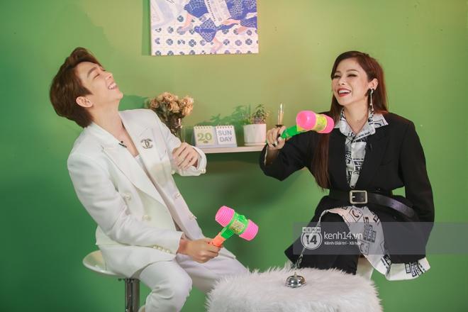 Tăng Phúc và Trương Thảo Nhi hát 3 hit khuấy đảo Vpop, thừa nhận hay nghe bài của Sơn Tùng mà không thuộc - ảnh 1