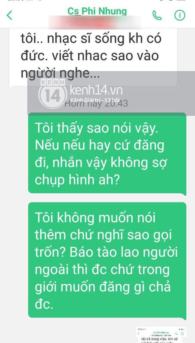 Phía Phi Nhung chính thức lên tiếng sau khi bị nhạc sĩ Chim Trắng Mồ Côi đăng đàn tố uy hiếp và đe doạ - ảnh 2