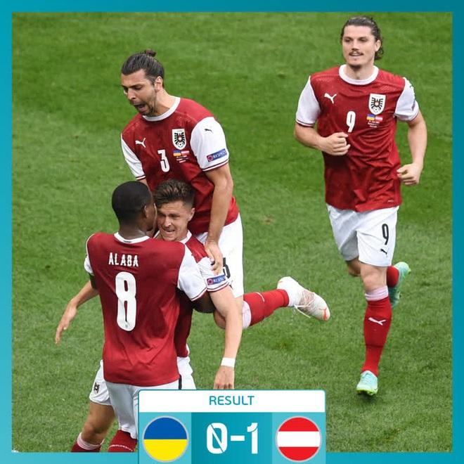 Đánh bại đối thủ trực tiếp Ukraine, tuyển Áo làm nên lịch sử tại Euro 2020 - ảnh 1