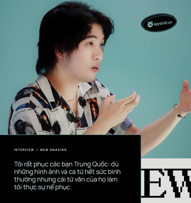 Nhạc sĩ Mew Amazing: Đem sản phẩm nhạc Hoa về viết lại lời cũng không xong rồi trình diễn, sao dễ dãi thế? - ảnh 7