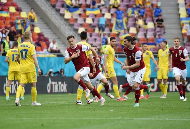 Đánh bại đối thủ trực tiếp Ukraine, tuyển Áo làm nên lịch sử tại Euro 2020 - ảnh 5