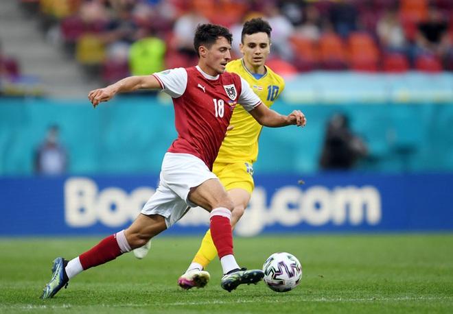 Đánh bại đối thủ trực tiếp Ukraine, tuyển Áo làm nên lịch sử tại Euro 2020 - ảnh 7