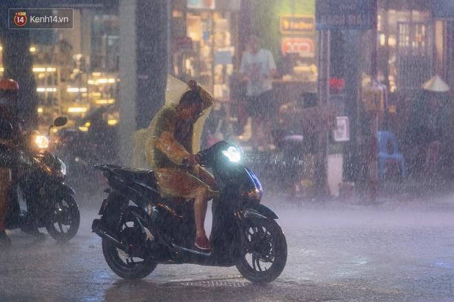 Chùm ảnh Hà Nội sau cơn mưa trắng trời: Cây đổ khắp phố phường, mất điện, người dân không kịp trở tay - ảnh 5