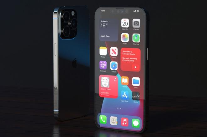 """Lộ concept iPhone 13 Pro Max màu đen """"bí ẩn"""", nhưng sao lại thế này? - Ảnh 5."""