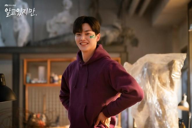 Hội đàn ông ác mộng của phim Hàn 2021: Song Kang ở Nevertheless đẹp đấy nhưng cũng là xin thôi! - Ảnh 3.