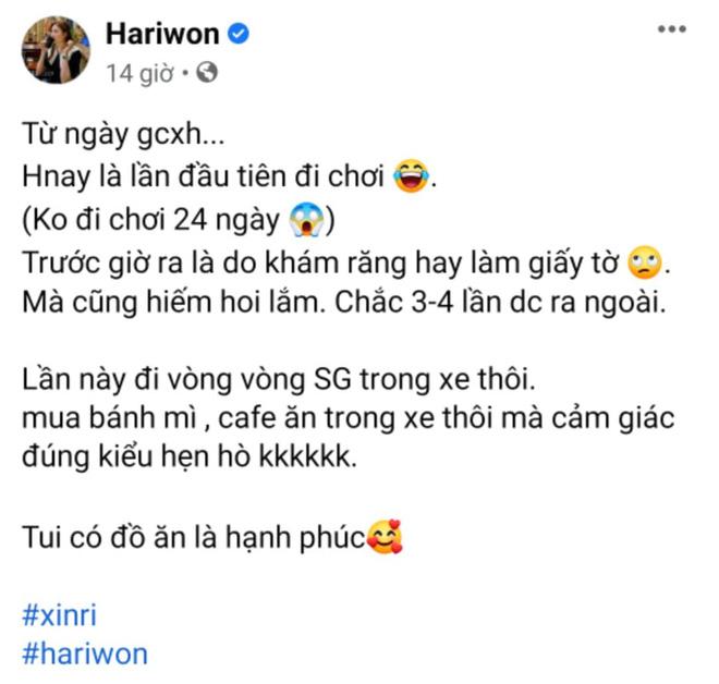Trần Thành ẩn ý có tin vui, Hari Won đăng status làm rõ luôn tin đồn mang thai? - ảnh 3