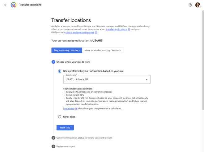 Google giảm lương nếu nhân viên chuyển trụ sở - ảnh 2