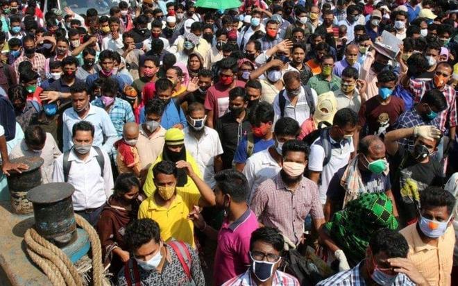 Gần 2/3 số quận, huyện của Bangladesh có nguy cơ Covid-19 rất cao - ảnh 1