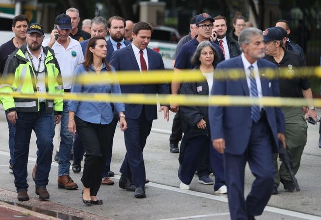 Hiện trường đổ nát vụ sập chung cư kinh hoàng ở Miami (Mỹ) - ảnh 3