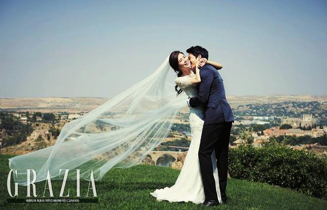 Mợ út tài phiệt của Mine Lee Bo Young: Hoa hậu bị gán mác tiểu tam, cự tuyệt tài tử Ji Sung rồi lại cùng chàng có kết đẹp như cổ tích - ảnh 13