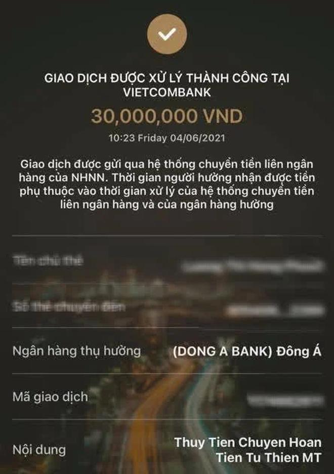 Thuỷ Tiên chính thức xin lỗi vị khán giả chuyển nhầm 30 triệu từ thiện, nhận lỗi sai sót và đã trả lại tiền - Ảnh 6.