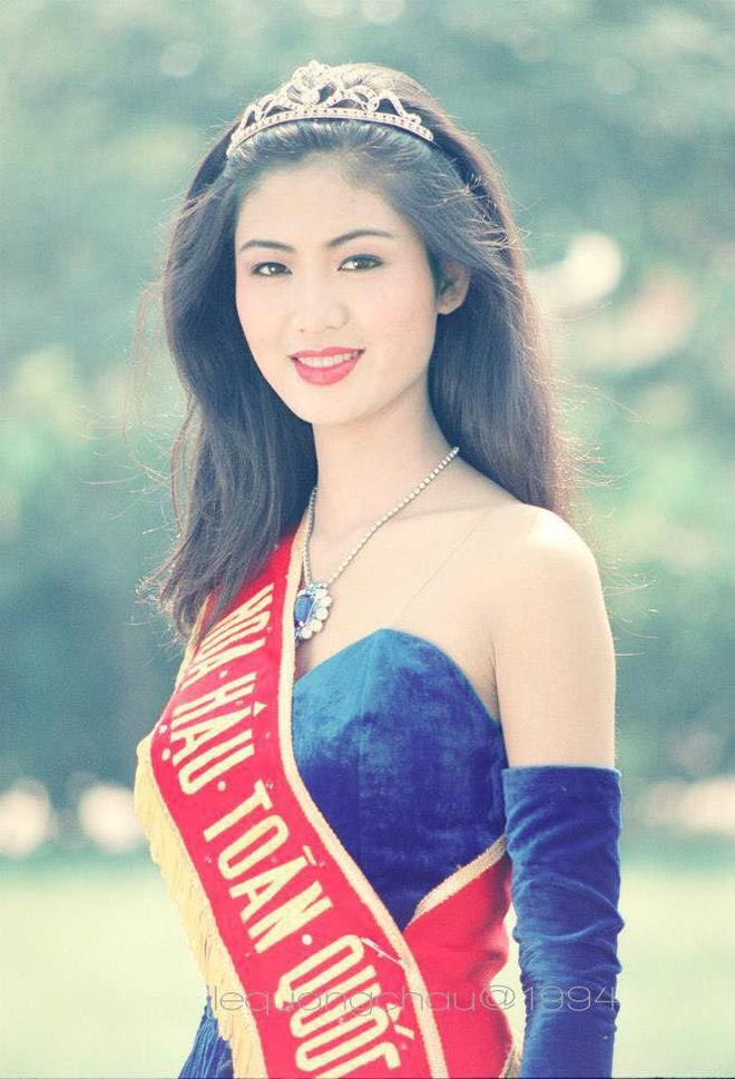Loạt ảnh hiếm năm 18 tuổi của Hoa hậu Nguyễn Thu Thuỷ lúc đăng quang Hoa hậu Việt Nam, nhan sắc bất bại khó ai sánh bằng - Ảnh 2.