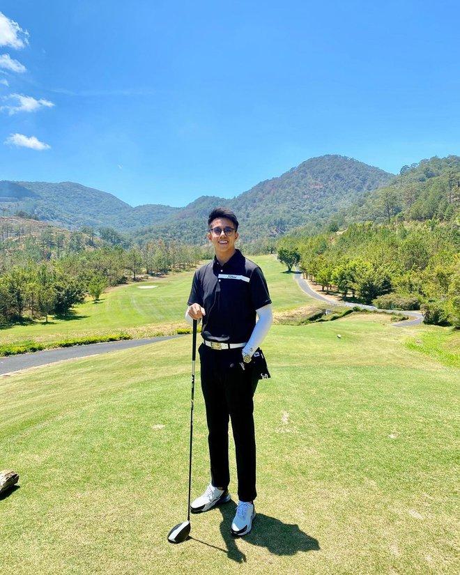 Matt Liu khoe ảnh đi đánh golf, chính là chỗ Hương Giang và hội chị em nổi tiếng vừa check-in? - Ảnh 1.