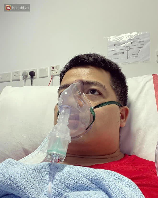 Hành trình chiến đấu với Covid-19 của phóng viên Việt Nam tác nghiệp tại UAE: Gục trong buổi họp báo, từng phải thở oxy vì tổn thương phổi nặng - Ảnh 4.
