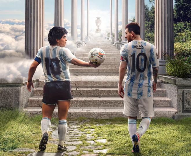 Dẫn dắt Argentina vô địch Nam Mỹ, giờ thì Messi không còn phải cúi đầu hổ thẹn trước Ronaldo về danh hiệu với đội tuyển - Ảnh 14.