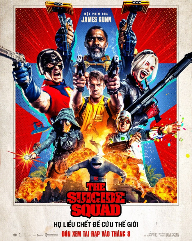 Siêu bom tấn The Suicide Squad ngập trong khen ngợi vì quá bạo lực, hài hước và siêu khó đoán: Phim hàng đầu của DC đây rồi! - Ảnh 1.
