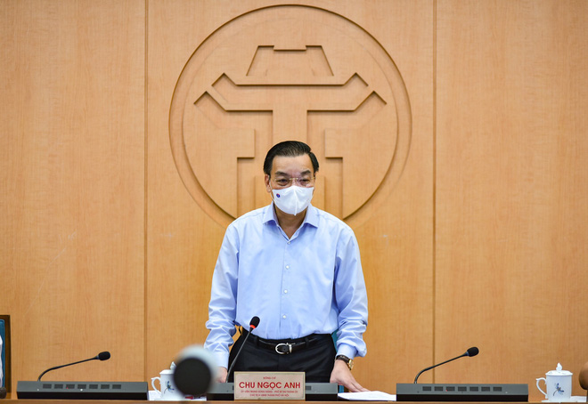 Chủ tịch Hà Nội: Thành phố xác định áp dụng các biện pháp mạnh nhất gần với Chỉ thị 16 - Ảnh 2.