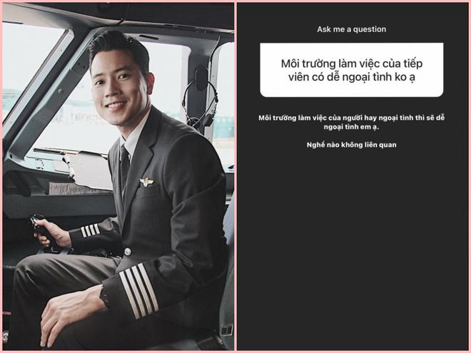 Cơ trưởng trẻ nhất Việt Nam đáp trả thế nào khi được hỏi làm nghề tiếp viên hàng không thì dễ ngoại tình? - ảnh 2