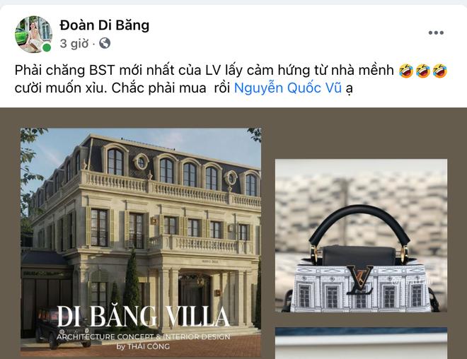 Đoàn Di Băng phát hiện Louis Vuitton nhái toà lâu đài 200 tỷ của Thái Công thiết kế cho mình, ngạc nhiên chưa? - ảnh 2